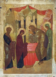 Presentation of Jesus at the Temple, Andrei Rublev