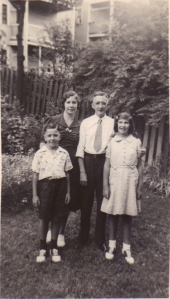 Elvira, Roy, Lou (my father) and Theresa Florio (c. 1938)
