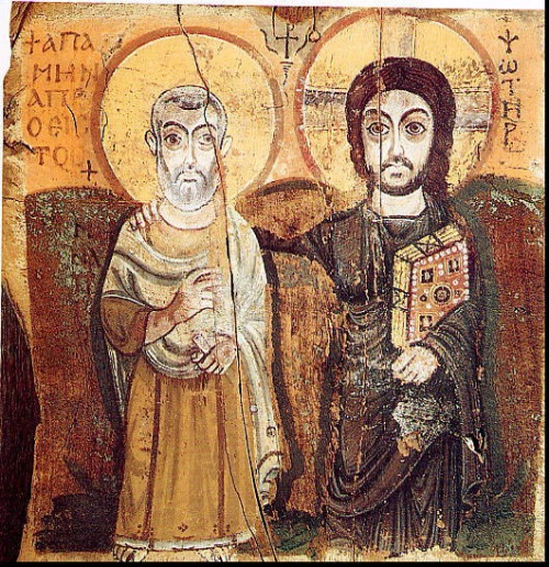jesus-and-his-friend-icon